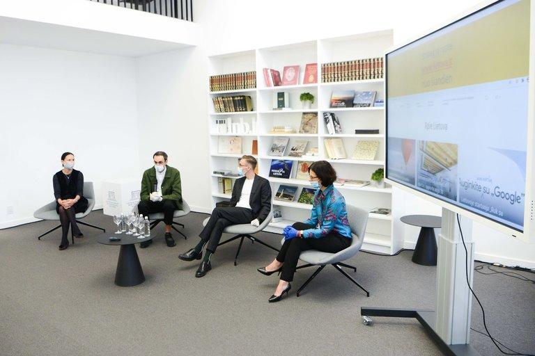 Lietuvos pristatymo užsienyje 2020-2030 m. strategijos pristatymas (nuotr. Fotodiena/Justino Auškelio)
