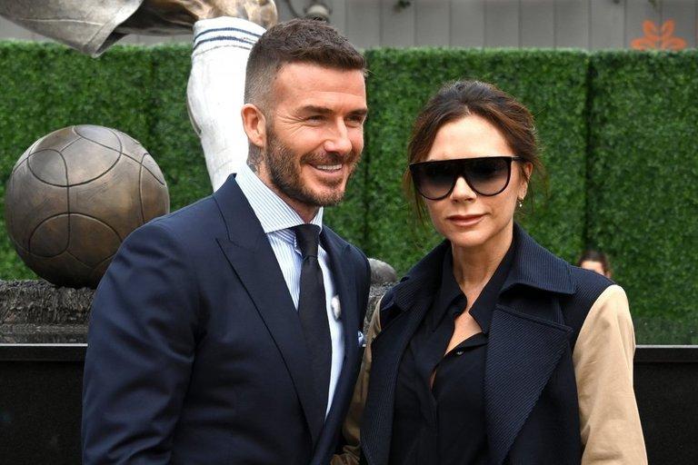Davidas ir Viktorija Beckhamai  (nuotr. SCANPIX)