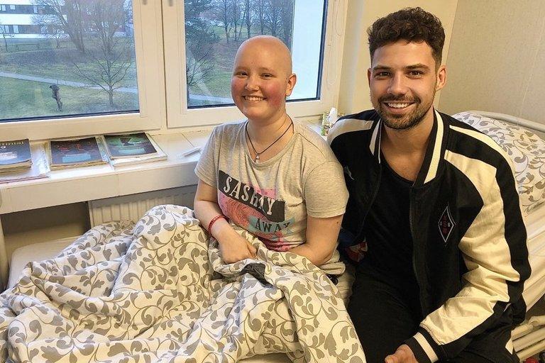 Petras Daunys aplankė onkologinius ligoniukus (nuotr. Organizatorių)