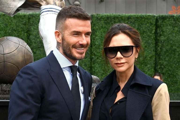 David Beckham ir Victoria Beckham (nuotr. SCANPIX)