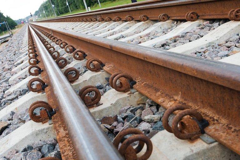 Geležinkelio bėgiai (asociatyvi nuotr. BFL)