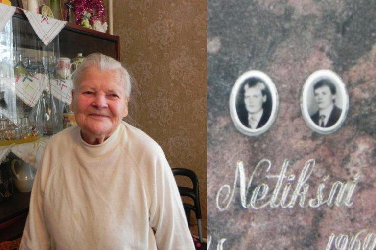 Žiūrint į šviesias 90-metės Onutės Netikšienės akis, nesitiki, kad likimas jai skyrė tiek daug sunkių išbandymų, kurie būtų galėję palaužti ir nuvaryti į kapus net ir stipriausią žmogų.