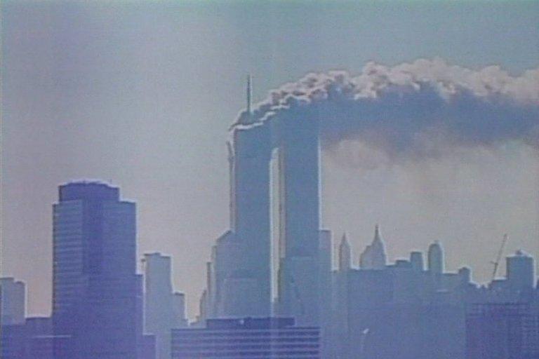 Rugsėjo 11-osios tragedija (nuotr. stop kadras)