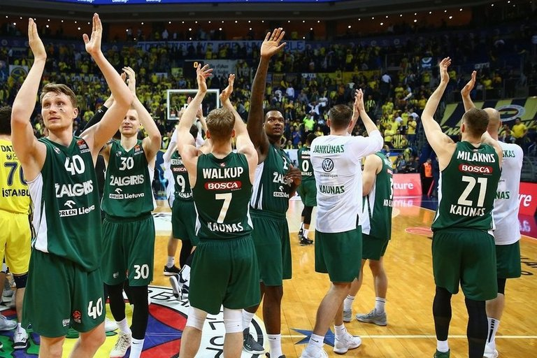 "Kauno ""Žalgiris"" (nuotr. Euroleague Basketball via Getty Images)"