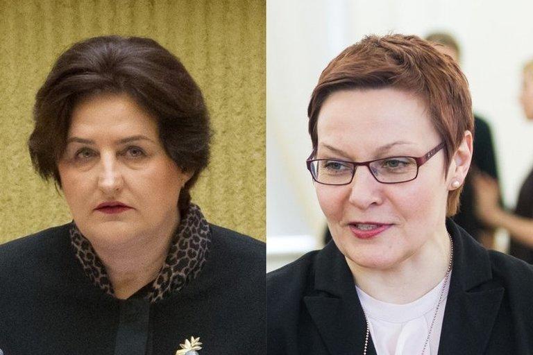 Loreta Graužinienė, Daiva Ulbinaitė (tv3.lt koliažas)