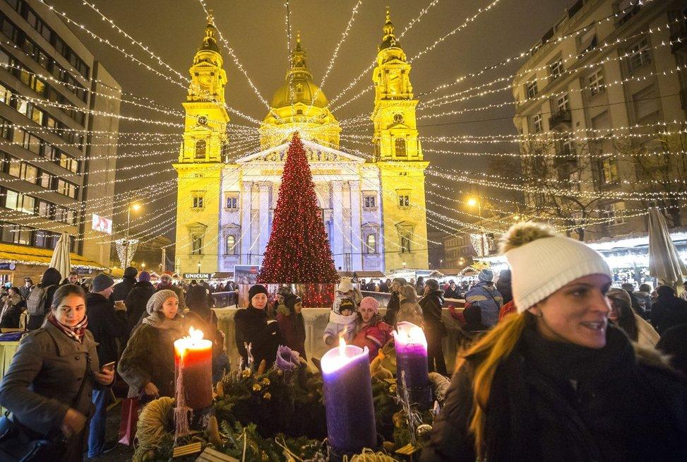 Budapešto kalėdinė mugė
