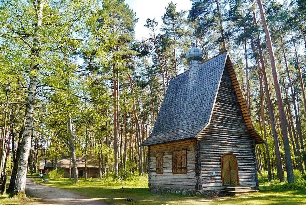 Etnografinis muziejus po atviru dangumi Rygoje. Wikipedia nuotr.