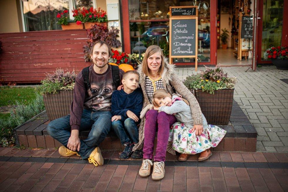 Šeima – didžiausias Rimos stiprybės šaltinis