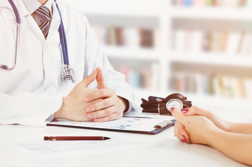 Pacientas ir gydytojas