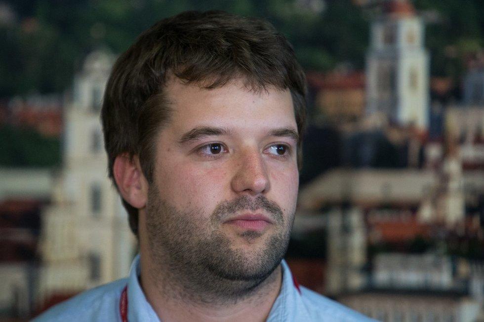 Vilniaus savivaldybės administracijos direktorius Povilas Poderskis (Paulius Peleckis/Fotobankas)