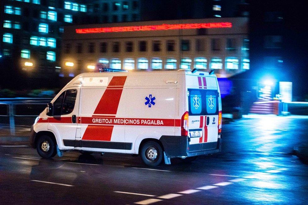 Ligoninė, greitoji, pirma pagalba, priėmimas