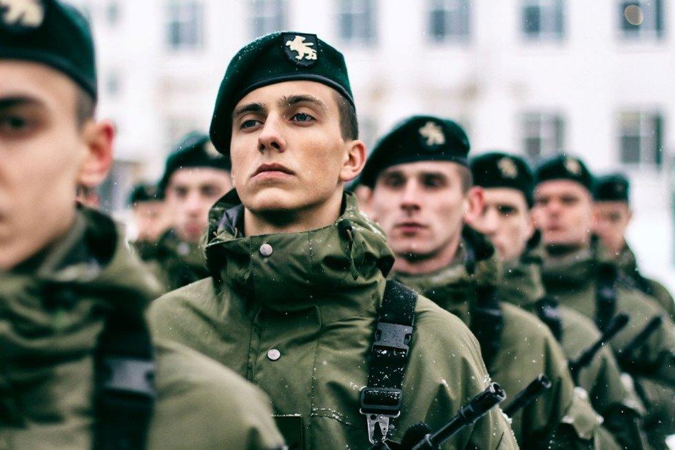 Lietuvai prisiekė beveik 500 šauktinių (nuotr. srž. Arnas Čemerka)