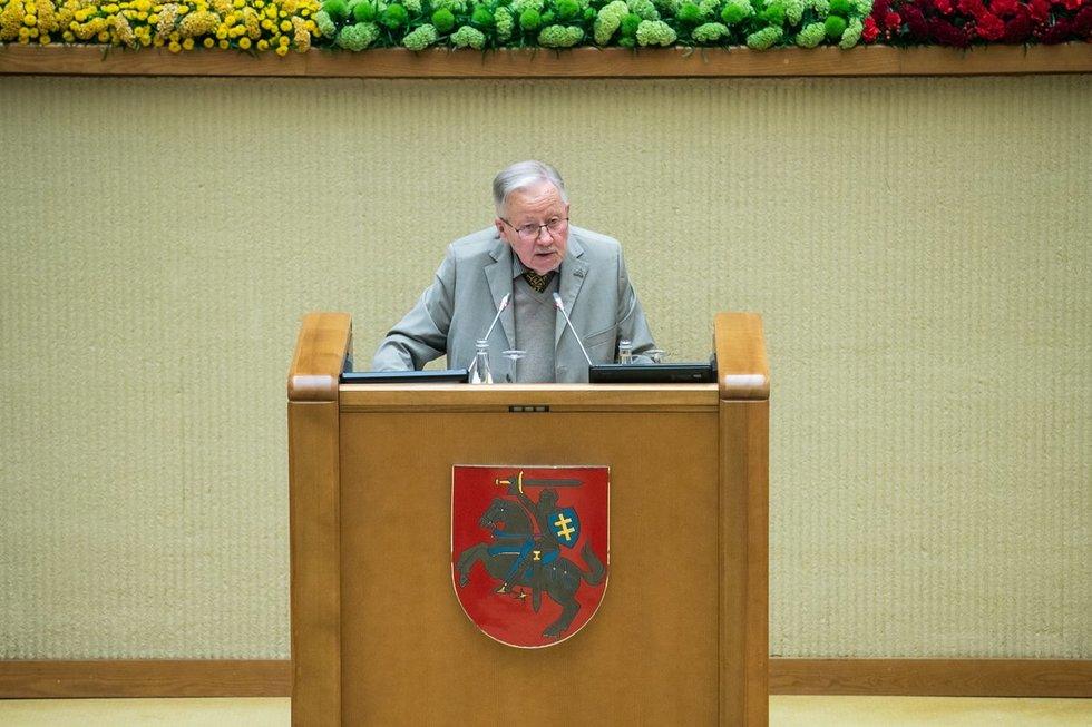 Lietuvos Nepriklausomybės atkūrimo 30-mečio minėjimas / Seimo kanceliarijos nuotr. (aut. Olga Posaškova, Džoja Gunda Barysaitė)