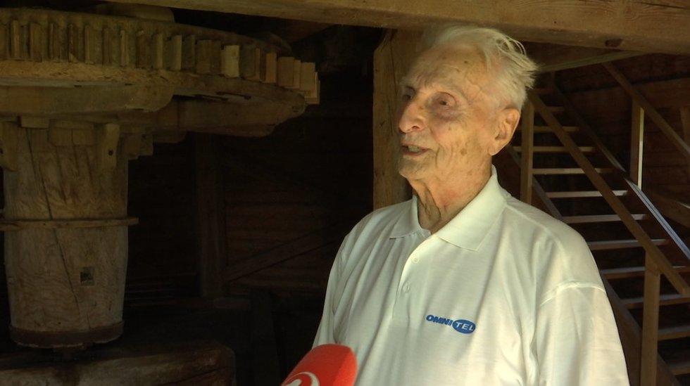 Prezidento tėtis Antanas Nausėda (stopkadras)