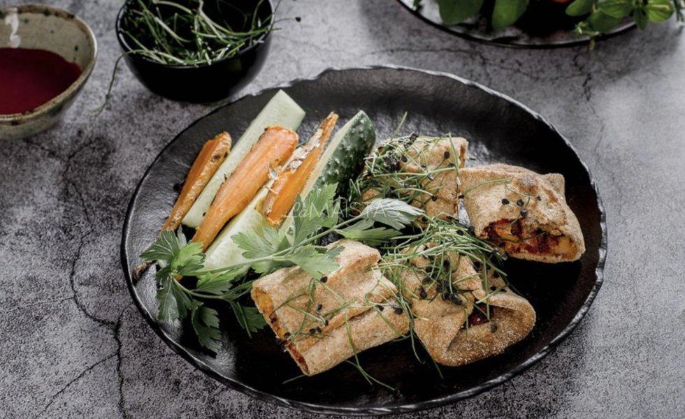 Picos suktinukai su vištiena ir sūriu. Nuotrauka LaMaistas.lt redakcijos