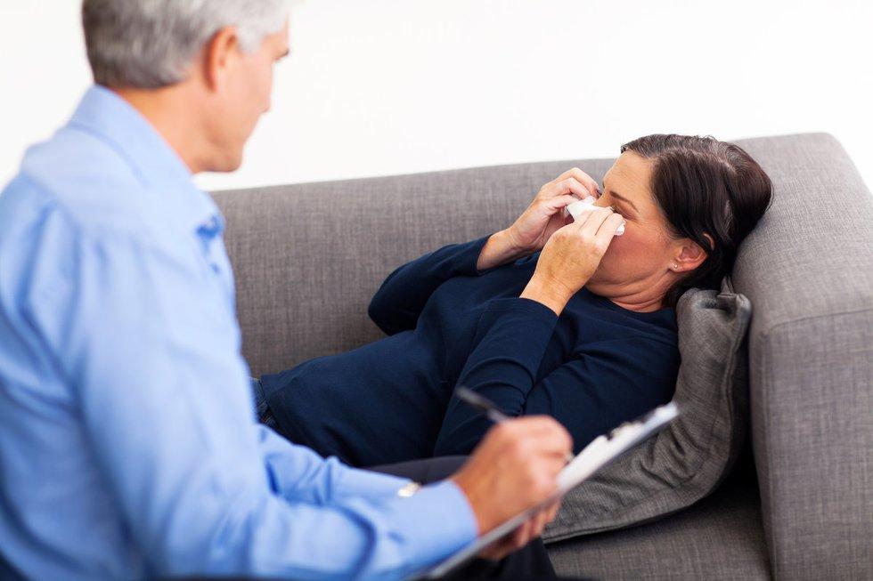 Psichologo konsultacija (nuotr. Fotolia.com)
