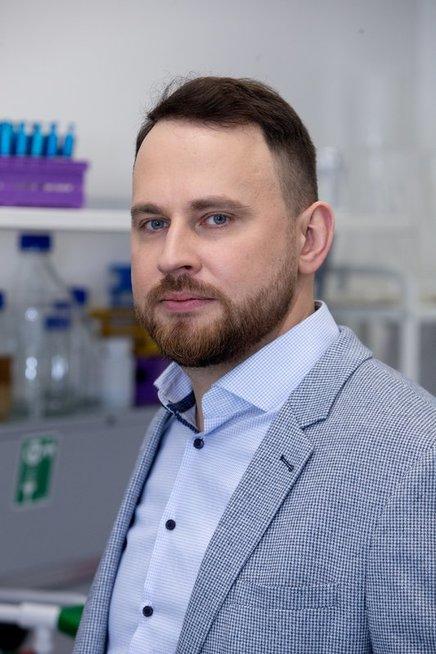Biotechnologijos instituto vyresnysis mokslo darbuotojas, LMA Jaunosios akademijos narys dr. Giedrius Gasiūnas. Asmeninio archyvo nuotr.