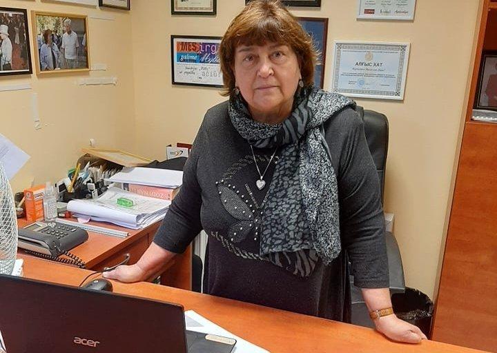 """Lietuvos sutrikusio intelekto žmonių globos bendrijos """"Viltis"""" pirmininkė Dana Migaliova. Gitanos Kuzmaitės nuotr."""