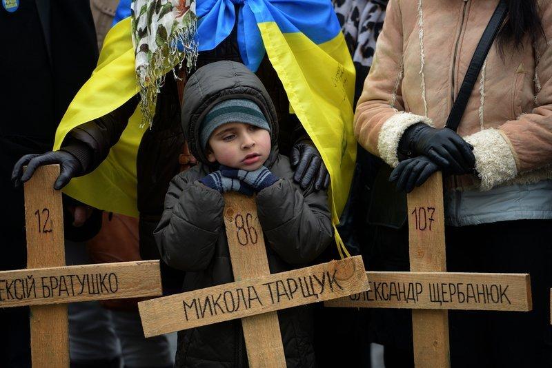 Prahoje pažymimos Maidano metinės (nuotr. AFP/Scanpix)