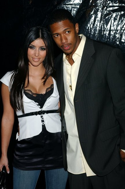 Nick Cannon ir Kim Kardashian