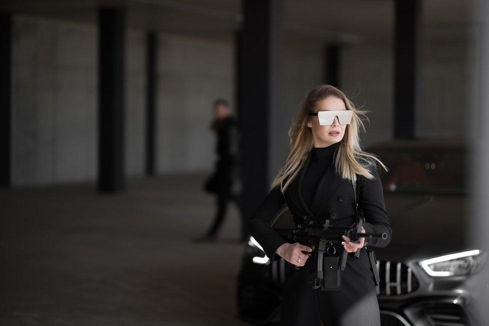 """Natalijos Bunkės dainos """"Lašas po lašo"""" filmavimo akimirkos"""