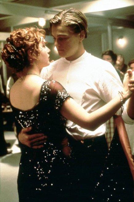 Kate Winslet ir Leonardo DiCaprio
