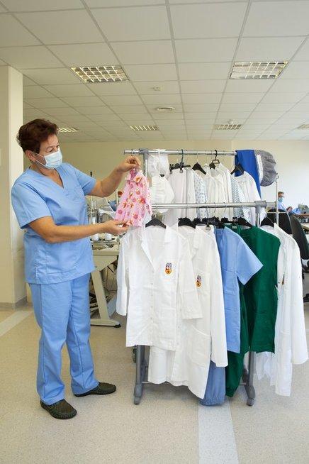 Kauno klinikų siuvyklos darbas