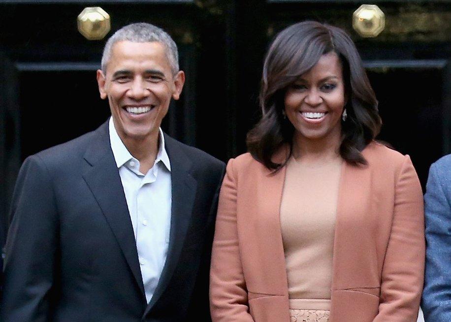 Michelle Obama ir Barack Obama