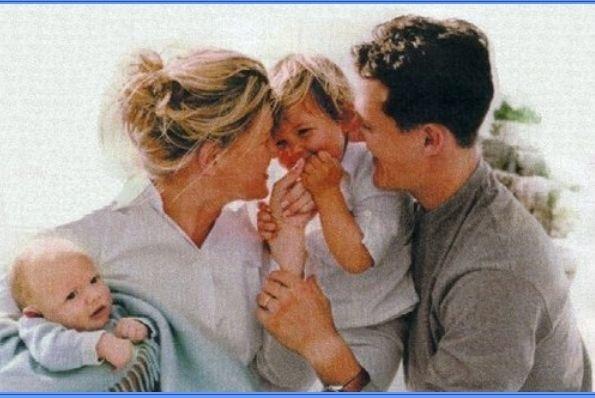 Michaelio Schumacherio šeima (nuotr. asm. archyvo)