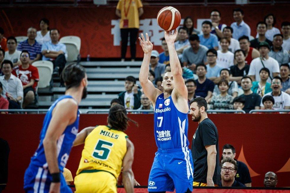 Australija – Čekija akimirkos (nuotr. FIBA)