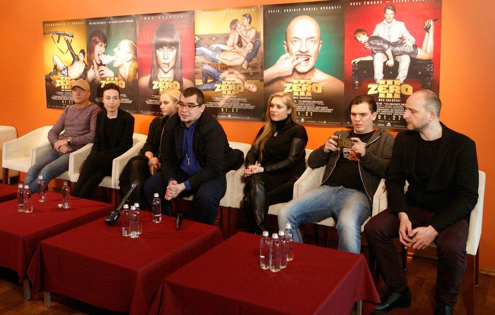 """Filmo """"Zero III"""" pristatymas (nuotr. Tv3.lt/Ruslano Kondratjevo)"""