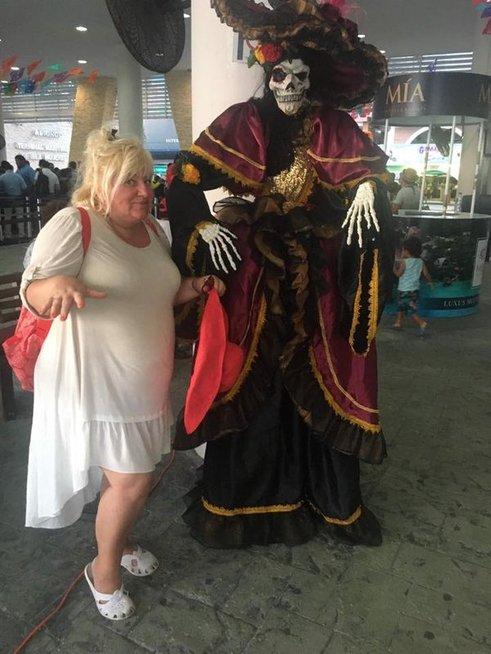 Dainos Bilevičiūtės atostogos Meksikoje
