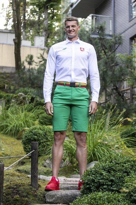 Lietuvos olimpiečių apranga Tokijo žaidynėms