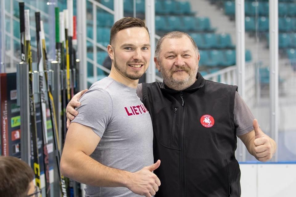 Piotras Dubrovskis (kairėje) (nuotr. facebook.com)