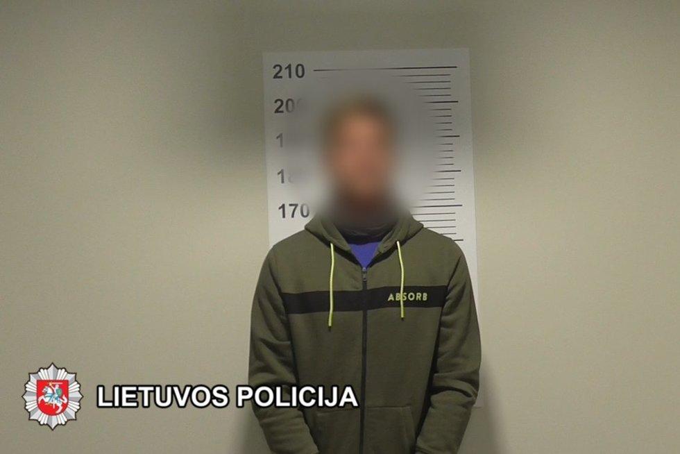 Skuodo rajono gyventojai įtariami narkotikų kontrabanda (nuotr. Lietuvos policija)