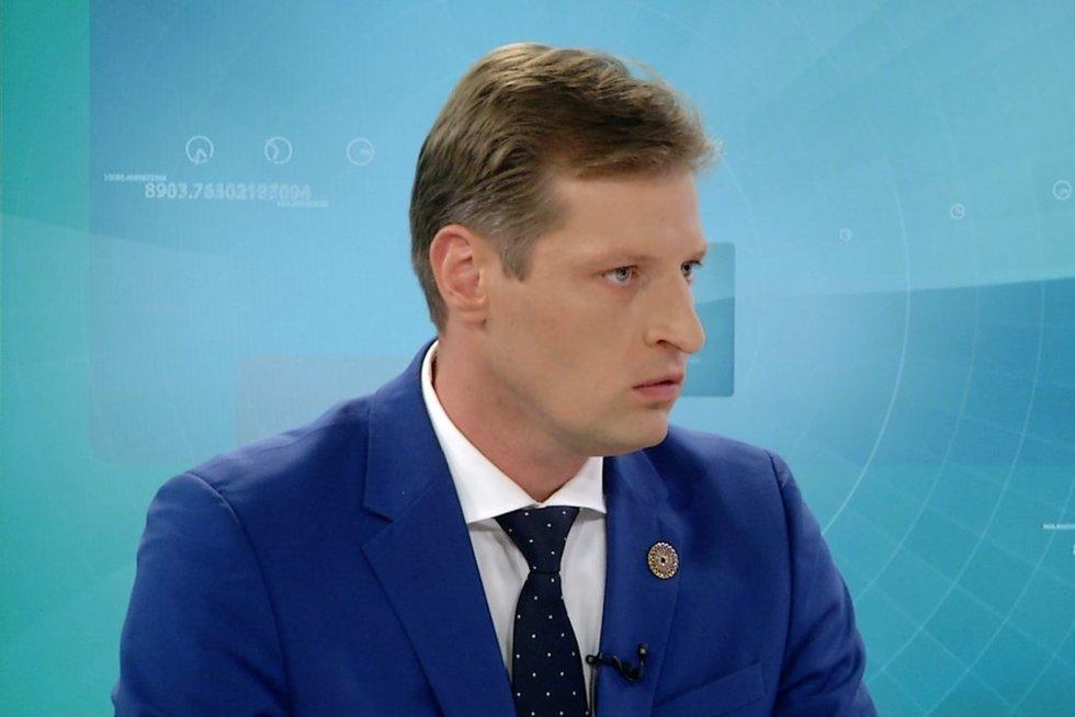 Kęstutis Mažeika (nuotr. stopkadras)