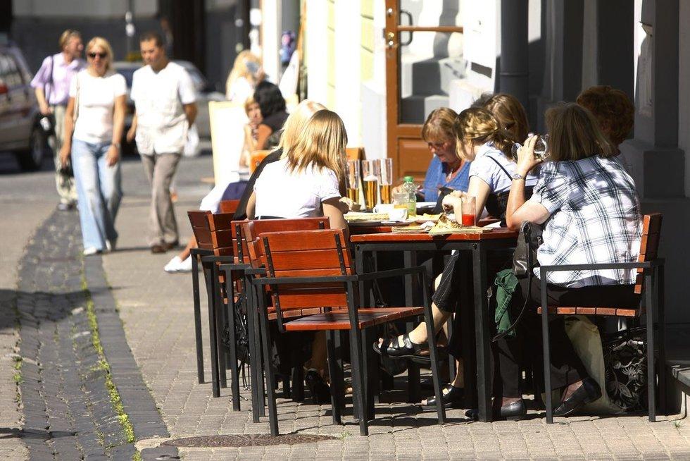 Lauko kavinė (nuotr. Fotodiena.lt)