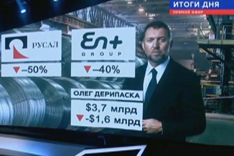Oligarchų praradimai (nuotr. TV3)