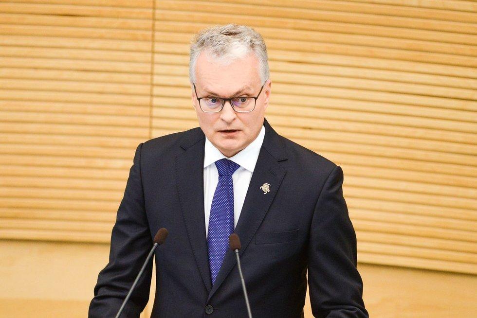 Gitanas Nausėda (nuotr. Fotodiena/Justinas Auškelis)