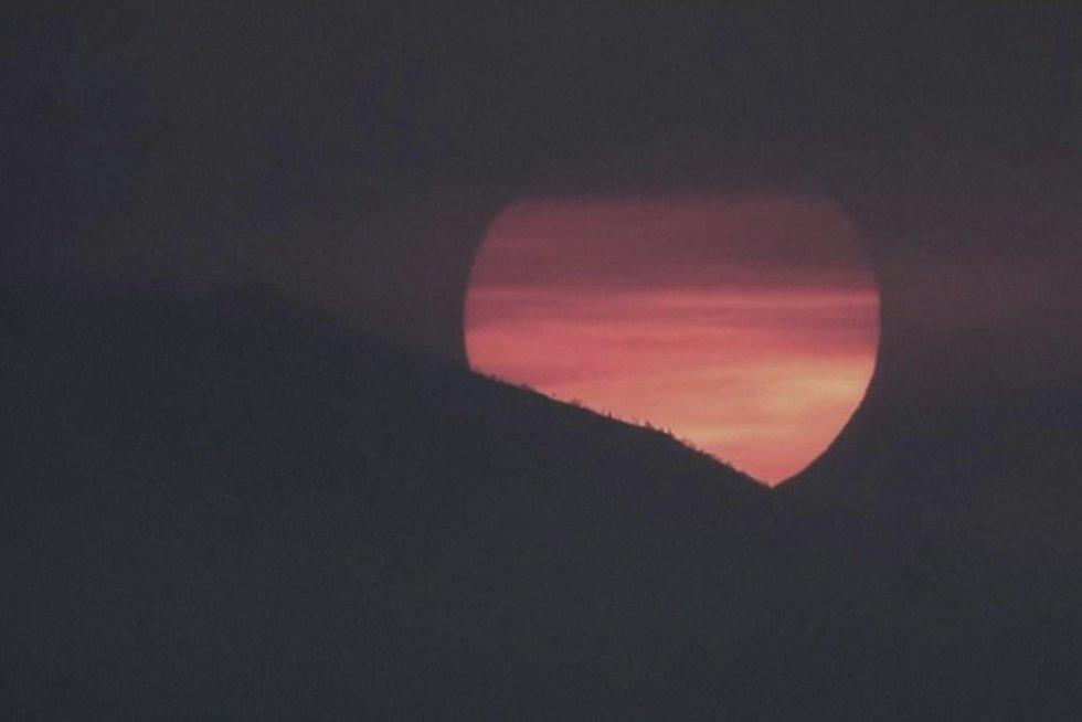 Saulėlydis (nuotr. stop kadras)