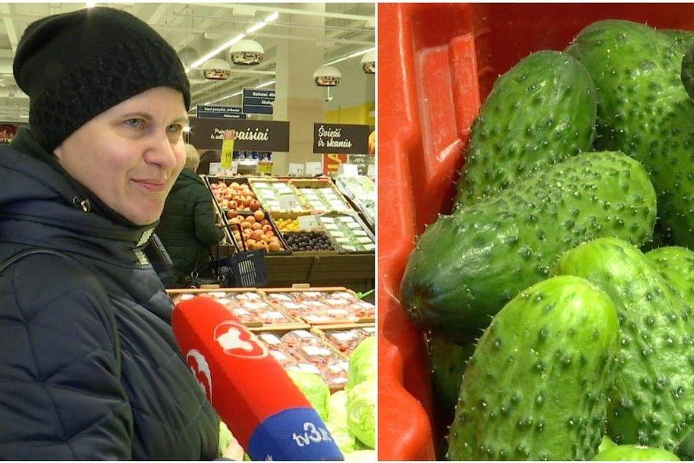 Lietuviai renkasi daržoves (tv3.lt fotomontažas)