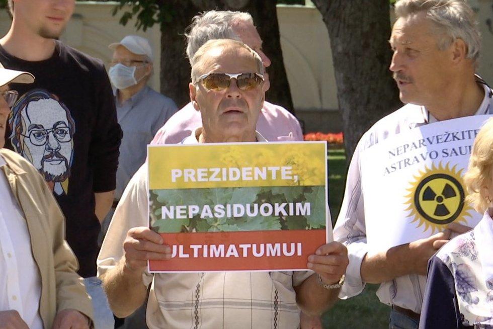 Astravo atidarymas kelia baimę: skubiai tariamasi, kaip gelbėti Lietuvą nuo radiacinės grėsmės (nuotr. stop kadras)