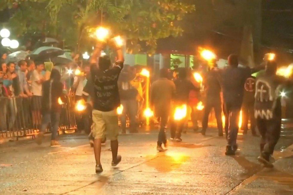 Ugnies festivalis (nuotr. stop kadras)