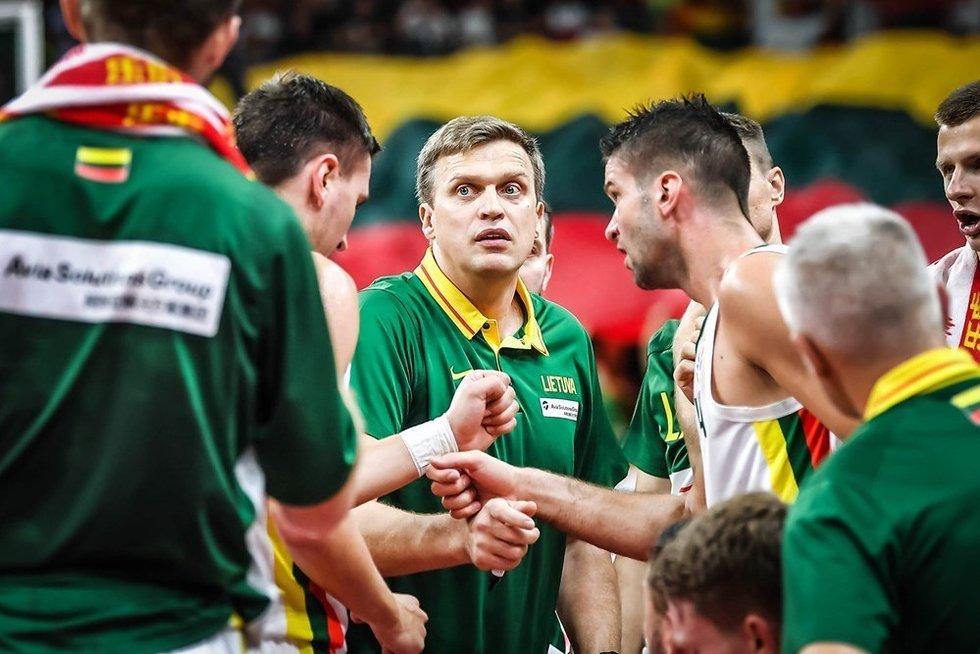 D. Adomaitis (nuotr. FIBA)