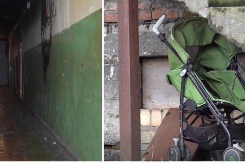 Parodė, kur gyveno mirusi mergytė su savo mama: norisi susigūžti  (nuotr. stop kadras)