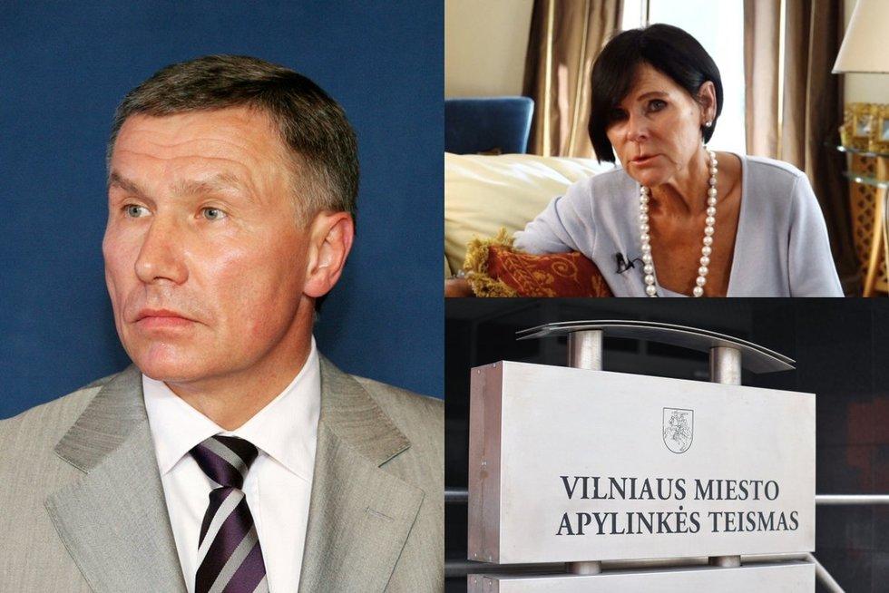 Byla dėl R. Karpavičiaus testamento užginčijimo (tv3.lt koliažas)