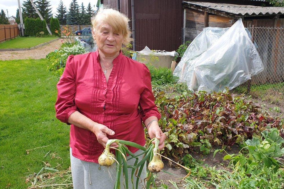 Marijampolietė Albina kartu su našlės išmoka pensijos gauna 270€ (nuotr. stop kadras)