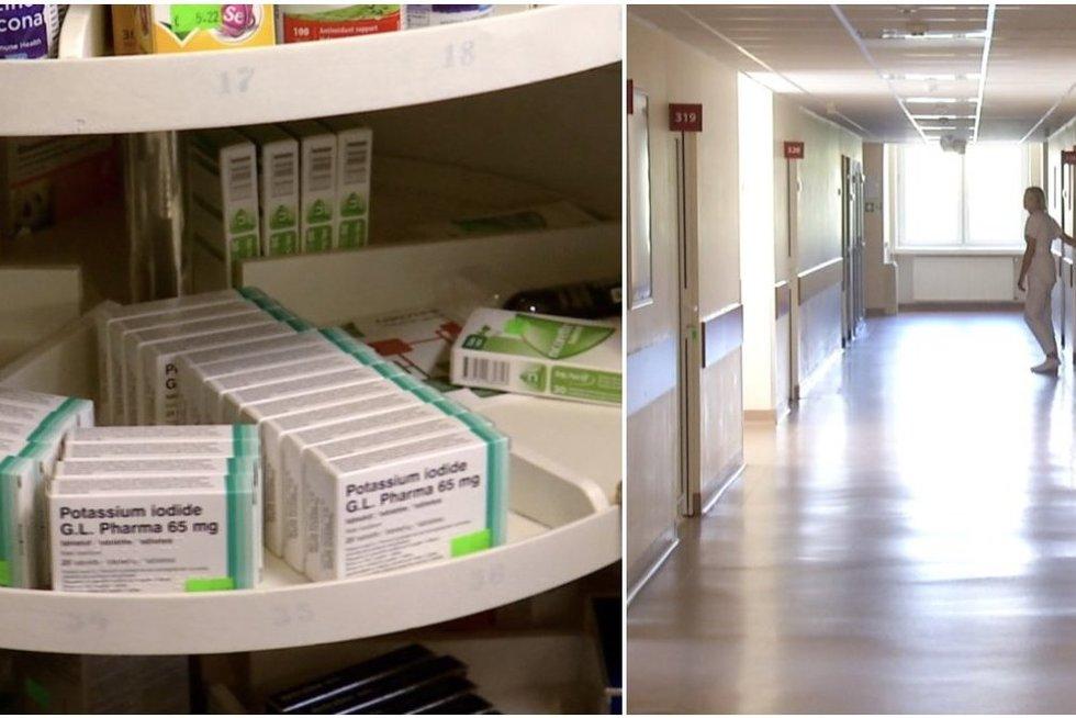 Įspėja dėl jodo tablečių (tv3.lt koliažas)