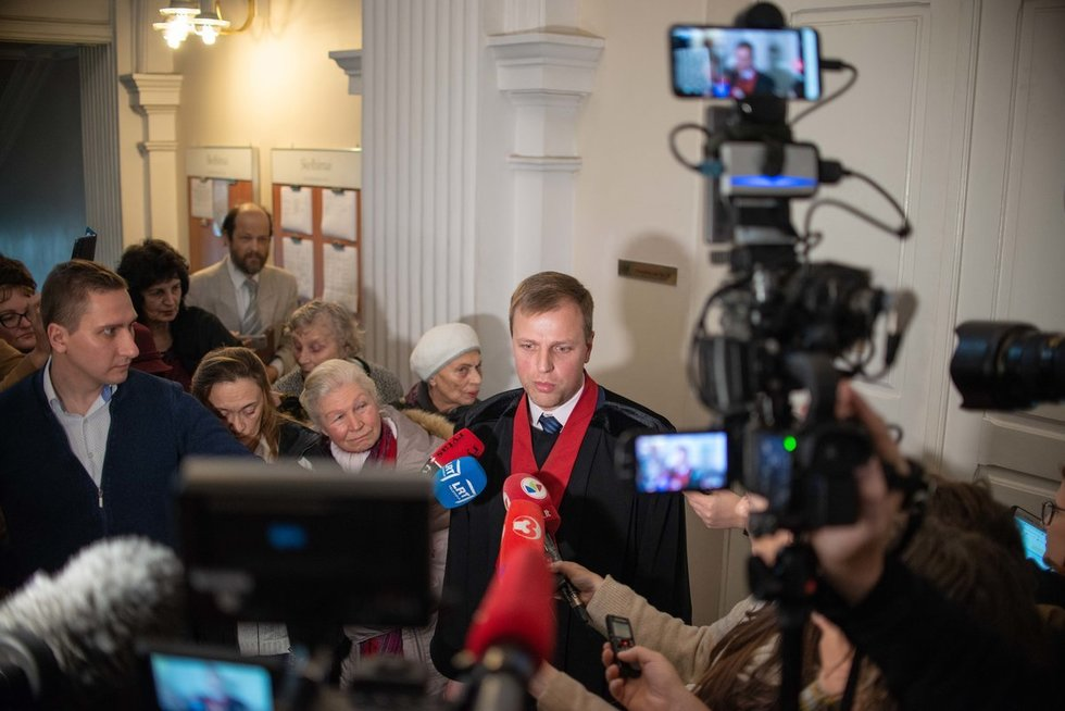Teismas dėl N. Venckienės suėmimo skundo (nuotr. Justinas Auškelis/Fotodiena)