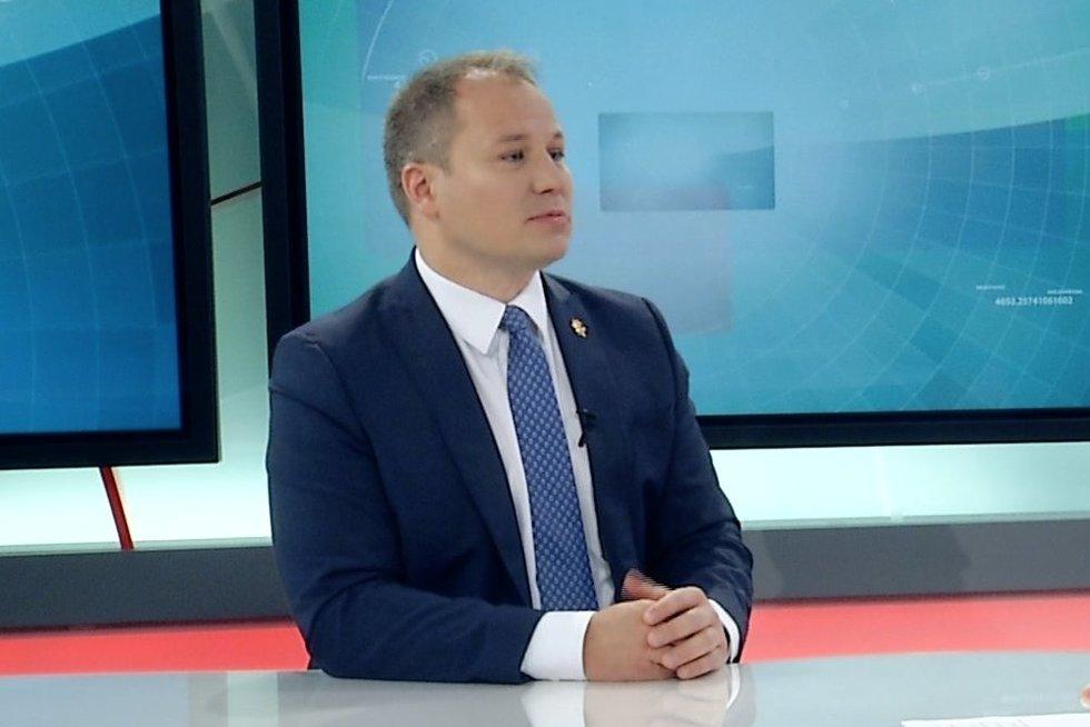 Žemės ūkio ministras Giedrius Surplys (nuotr. TV3)
